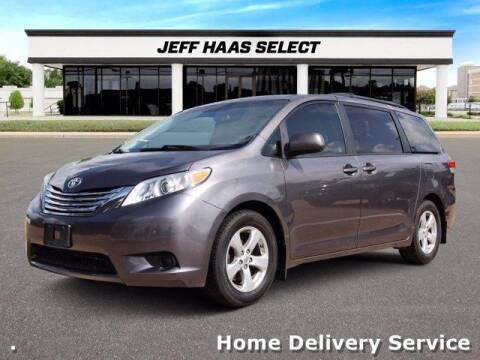 2014 Toyota Sienna for sale at JEFF HAAS MAZDA in Houston TX