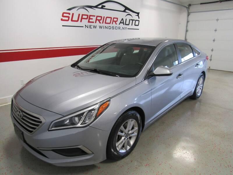 2017 Hyundai Sonata for sale at Superior Auto Sales in New Windsor NY