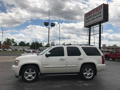 2008 Chevrolet Tahoe for sale at United Auto Sales in Oklahoma City OK