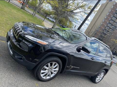 2014 Jeep Cherokee for sale at Top Gear Cars LLC in Lynn MA