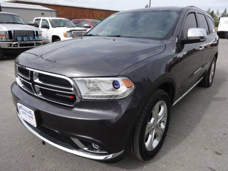2014 Dodge Durango for sale at Dependable Used Cars in Anchorage AK