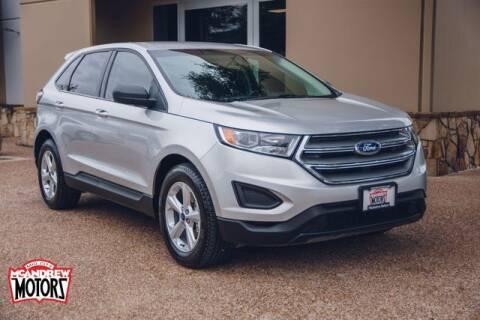 2018 Ford Edge for sale at Mcandrew Motors in Arlington TX