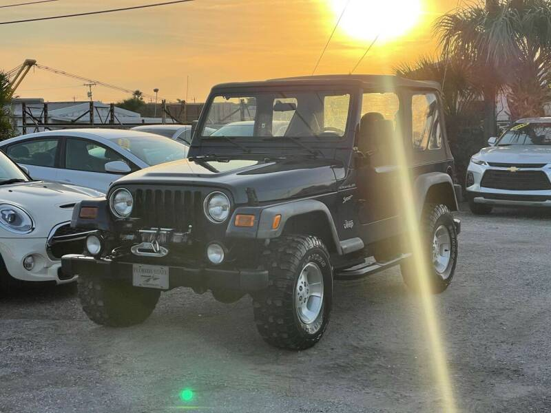 2002 Jeep Wrangler for sale at Classic Cars of Palm Beach in Jupiter FL