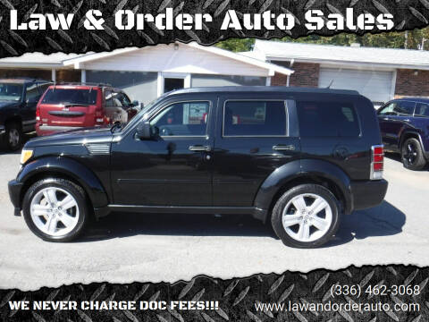 2011 Dodge Nitro for sale at Law & Order Auto Sales in Pilot Mountain NC