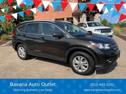 2014 Honda CR-V for sale at Bavaria Auto Outlet in Victoria MN