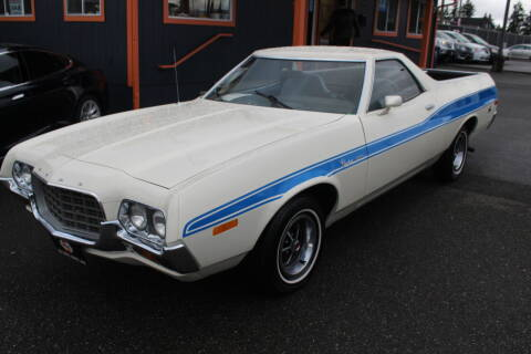 1972 Ford Ranchero for sale at Sabeti Motors in Tacoma WA