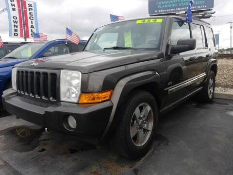 2006 Jeep Commander for sale at American Auto Group LLC in Saginaw MI