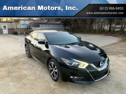 2016 Nissan Maxima for sale at American Motors, Inc. in Farmington MN