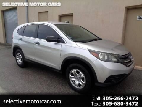 2013 Honda CR-V for sale at Selective Motor Cars in Miami FL