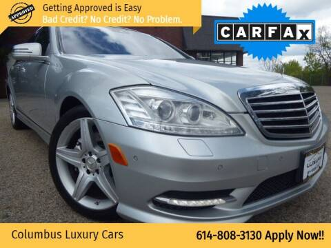 2010 Mercedes-Benz S-Class for sale at Columbus Luxury Cars in Columbus OH