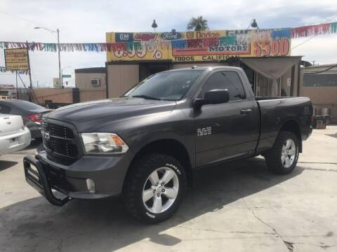 2015 RAM Ram Pickup 1500 for sale at DEL CORONADO MOTORS in Phoenix AZ