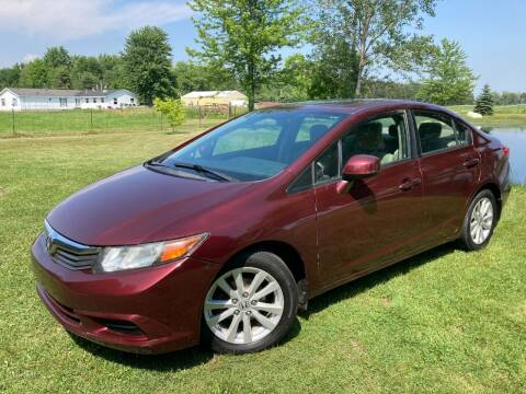 2012 Honda Civic for sale at K2 Autos in Holland MI