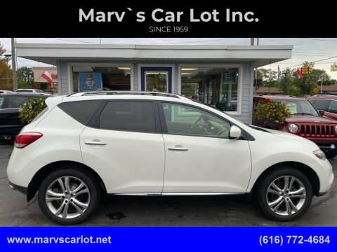 2012 Nissan Murano for sale at Marv`s Car Lot Inc. in Zeeland MI