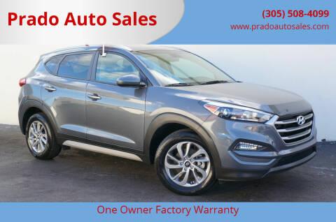 2018 Hyundai Tucson for sale at Prado Auto Sales in Miami FL