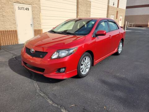 2009 Toyota Corolla for sale at Sooner Automotive Sales & Service LLC in Peoria AZ