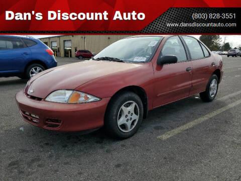 2001 Chevrolet Cavalier for sale at Dan's Discount Auto in Gaston SC