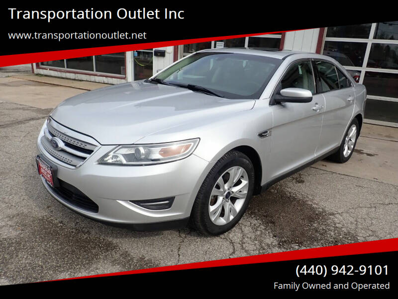 2010 Ford Taurus for sale at Transportation Outlet Inc in Eastlake OH