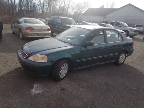 2000 Honda Civic for sale at Balfour Motors in Agawam MA