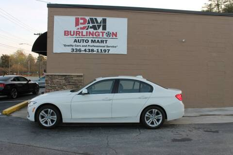 2018 BMW 3 Series for sale at Burlington Auto Mart in Burlington NC
