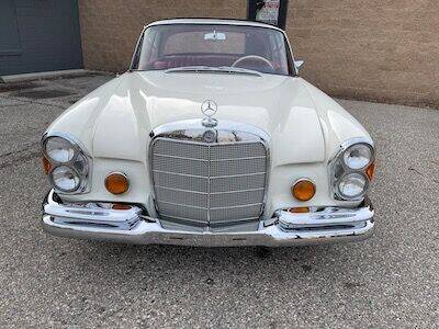 1967 Mercedes-Benz S-Class for sale at MICHAEL'S AUTO SALES in Mount Clemens MI