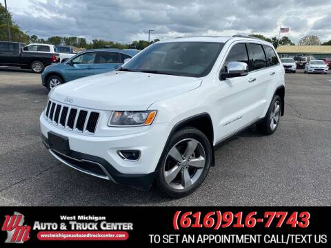 2015 Jeep Grand Cherokee for sale at West Michigan Auto and Truck Center in Cedar Springs MI