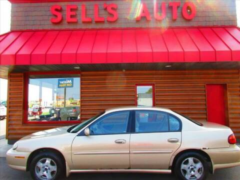 2002 Chevrolet Malibu for sale at Sells Auto INC in Saint Cloud MN