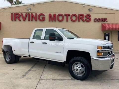 2016 Chevrolet Silverado 3500HD for sale at Irving Motors Corp in San Antonio TX