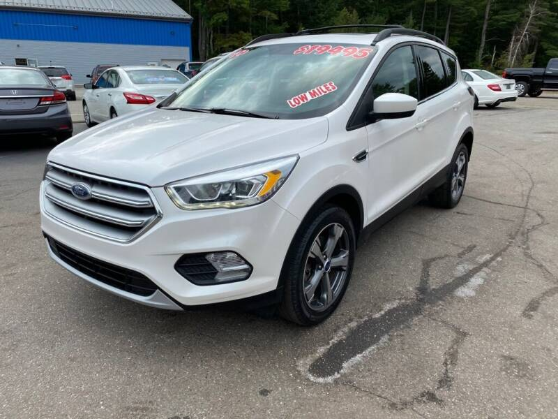 2017 Ford Escape for sale at AutoMile Motors in Saco ME