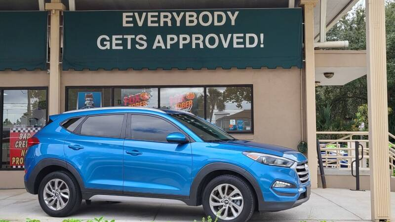 2018 Hyundai Tucson for sale at Dunn-Rite Auto Group in Longwood FL
