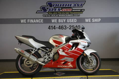 2000 Honda CBR600F4 for sale at Southeast Sales Powersports in Milwaukee WI