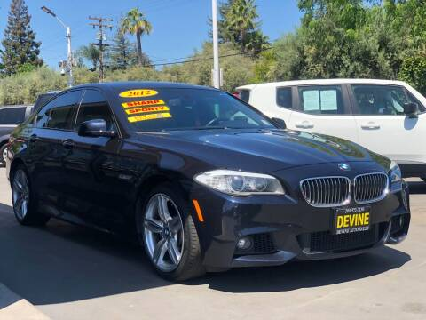2012 BMW 5 Series for sale at Devine Auto Sales in Modesto CA