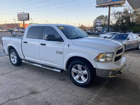 2014 RAM Ram Pickup 1500 for sale at THE COLISEUM MOTORS in Pensacola FL