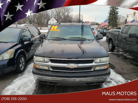 2004 Chevrolet Suburban for sale at MAUS MOTORS in Hazel Crest IL
