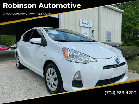 2012 Toyota Prius c for sale at Robinson Automotive in Albemarle NC