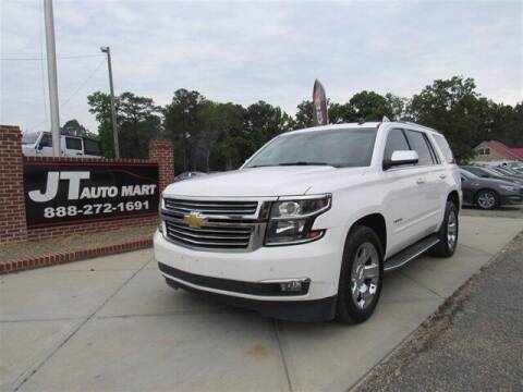2015 Chevrolet Tahoe for sale at J T Auto Group in Sanford NC