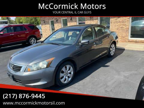 2009 Honda Accord for sale at McCormick Motors in Decatur IL