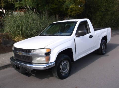2007 Chevrolet Colorado for sale at Eastside Motor Company in Kirkland WA
