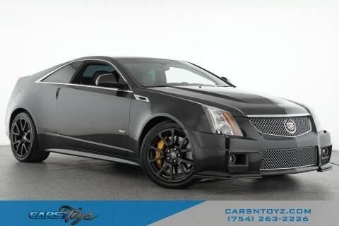 2013 Cadillac CTS-V for sale at JumboAutoGroup.com - Carsntoyz.com in Hollywood FL