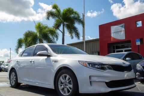 2018 Kia Optima for sale at Florida Auto Reserve in Medley FL