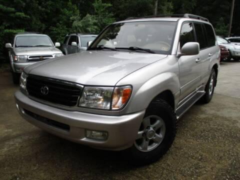 2000 Toyota Land Cruiser for sale at Elite Auto Wholesale in Midlothian VA