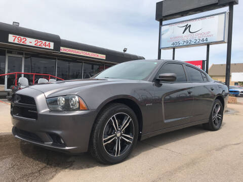 2014 Dodge Charger for sale at NORRIS AUTO SALES in Oklahoma City OK