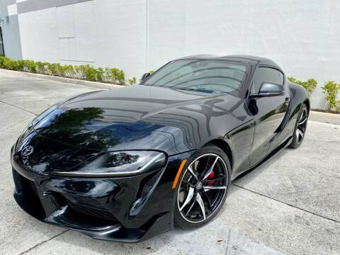 2020 Toyota GR Supra for sale at Auto Beast in Fort Lauderdale FL