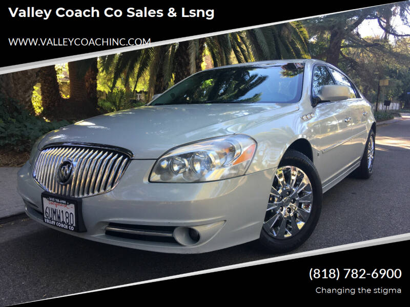 2010 Buick Lucerne for sale at Valley Coach Co Sales & Lsng in Van Nuys CA