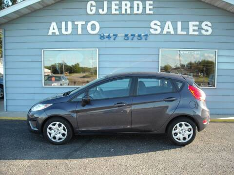 2012 Ford Fiesta for sale at GJERDE AUTO SALES in Detroit Lakes MN