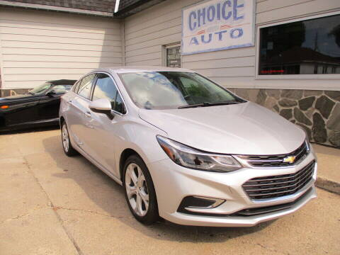 2017 Chevrolet Cruze for sale at Choice Auto in Carroll IA