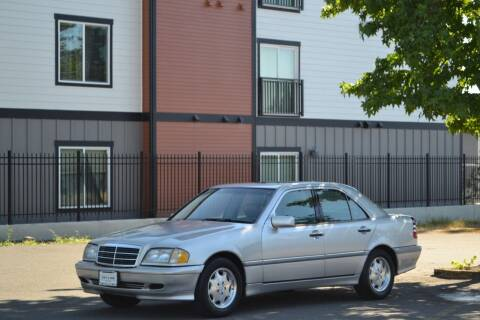 2000 Mercedes-Benz C-Class for sale at Skyline Motors Auto Sales in Tacoma WA