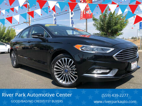 2018 Ford Fusion for sale at River Park Automotive Center in Fresno CA