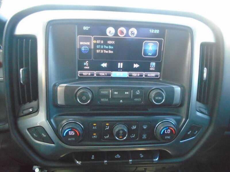 2014 Chevrolet Silverado 1500 4x2 LT Z71 4dr Crew Cab 5.8 ft. SB - Houston TX