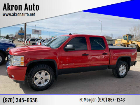 2011 Chevrolet Silverado 1500 for sale at Akron Auto in Akron CO