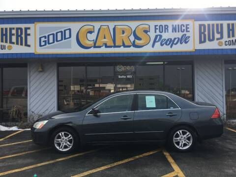 2007 Honda Accord for sale at Good Cars 4 Nice People in Omaha NE